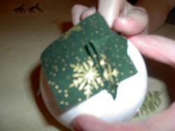 Boule de Noël en patchwork   Idées conseils et tuto Boules de noël