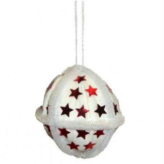 Boule étoile de Noël