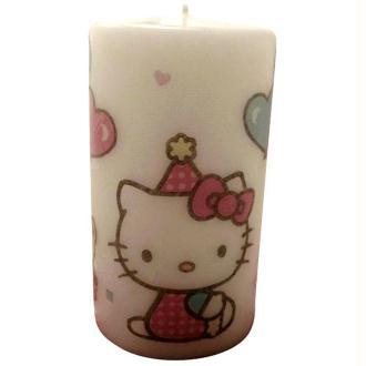 Une bougie Hello Kitty