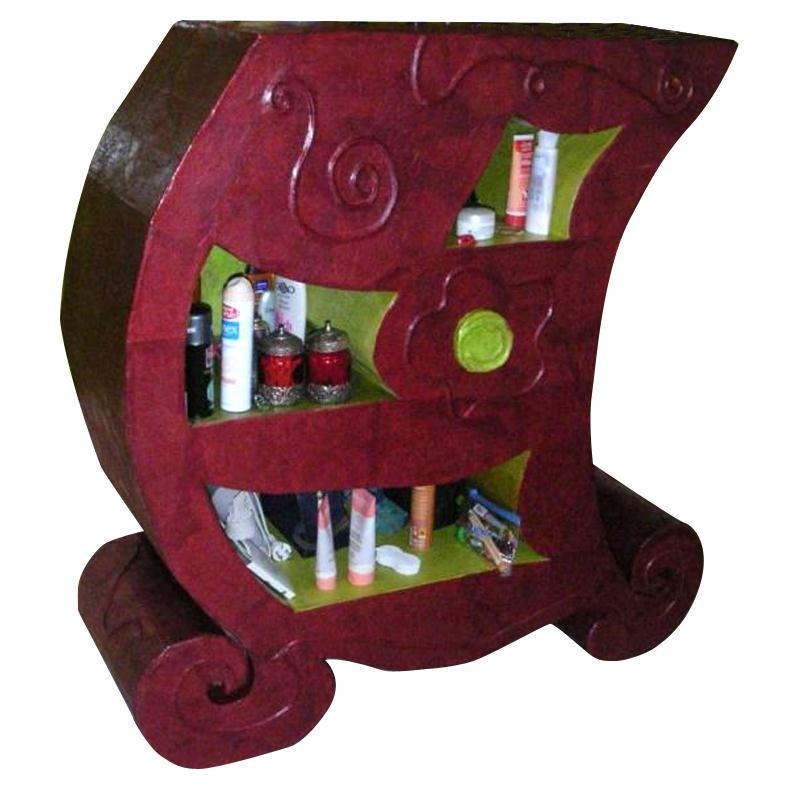D corer un meuble en carton id es conseils et tuto meuble en carton - Decorer un meuble ...