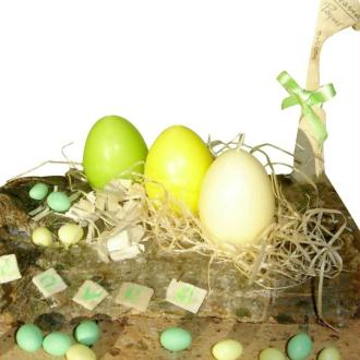 Nid printanier pour Pâques