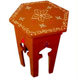 Relooker une table en une table marocaine