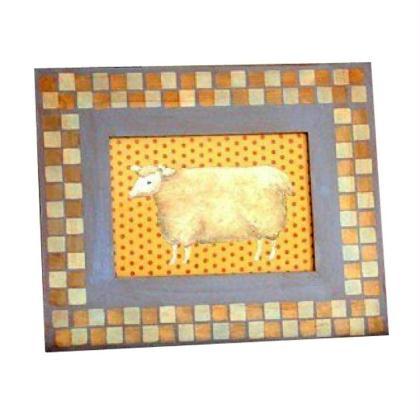 cadre photo mouton mosa que id es conseils et tuto home d co cadre tableau. Black Bedroom Furniture Sets. Home Design Ideas