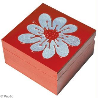 Décorer une boîte à bijoux Fleur