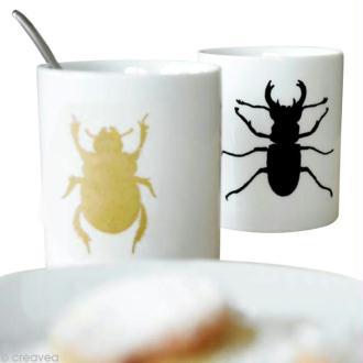 Peinture sur mug