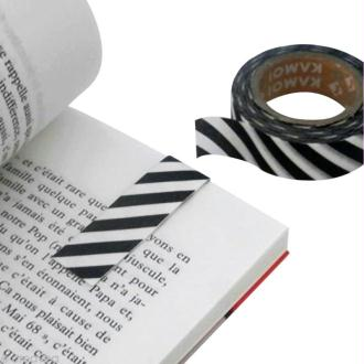 Marque-page magnétique en masking tape