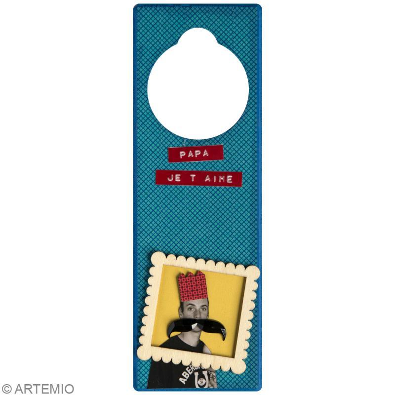 Bricolage f te des p res 7 id es de plaques de porte - Plaque de porte chambre enfant ...
