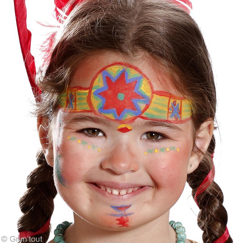 Bien connu Tuto maquillage Pocahontas - Idées conseils et tuto Maquillage NU98