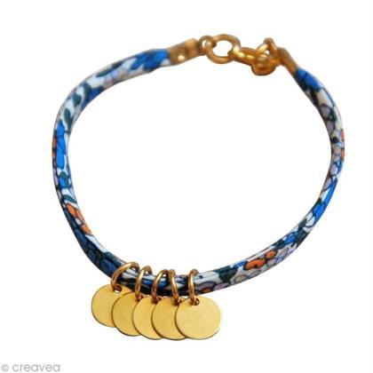 bracelet pastille avec cordon liberty id es conseils et tuto perles et bijoux. Black Bedroom Furniture Sets. Home Design Ideas