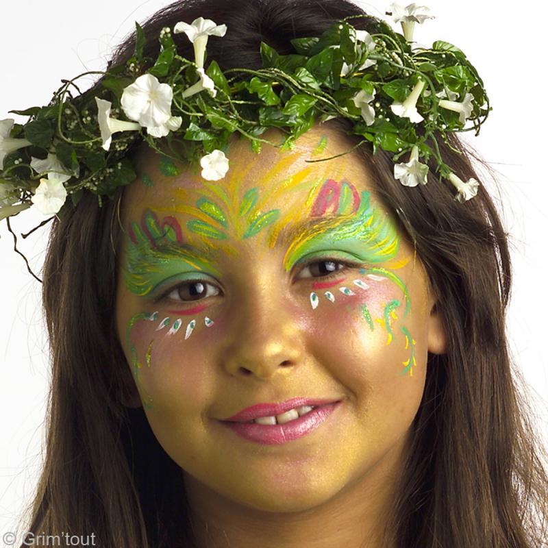 Maquillage Elfe de la forêt