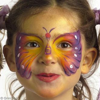 Tuto : Maquillage papillon pour fille
