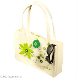 Customisation de sac en feutre
