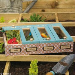 Bricolage jardinière et bac pour potager - Idées conseils et tuto Décoration