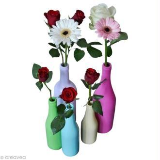 Des vases colorés et originaux