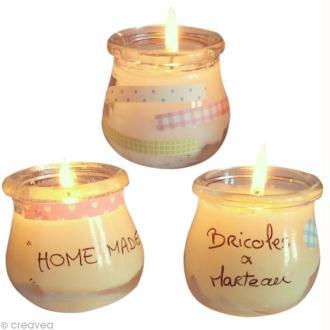 Tuto pour des bougies faites maison