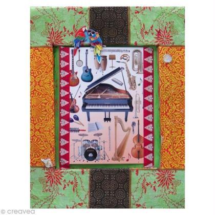 tuto fabriquer un cadre en carton id es conseils et tuto home d co cadre tableau. Black Bedroom Furniture Sets. Home Design Ideas