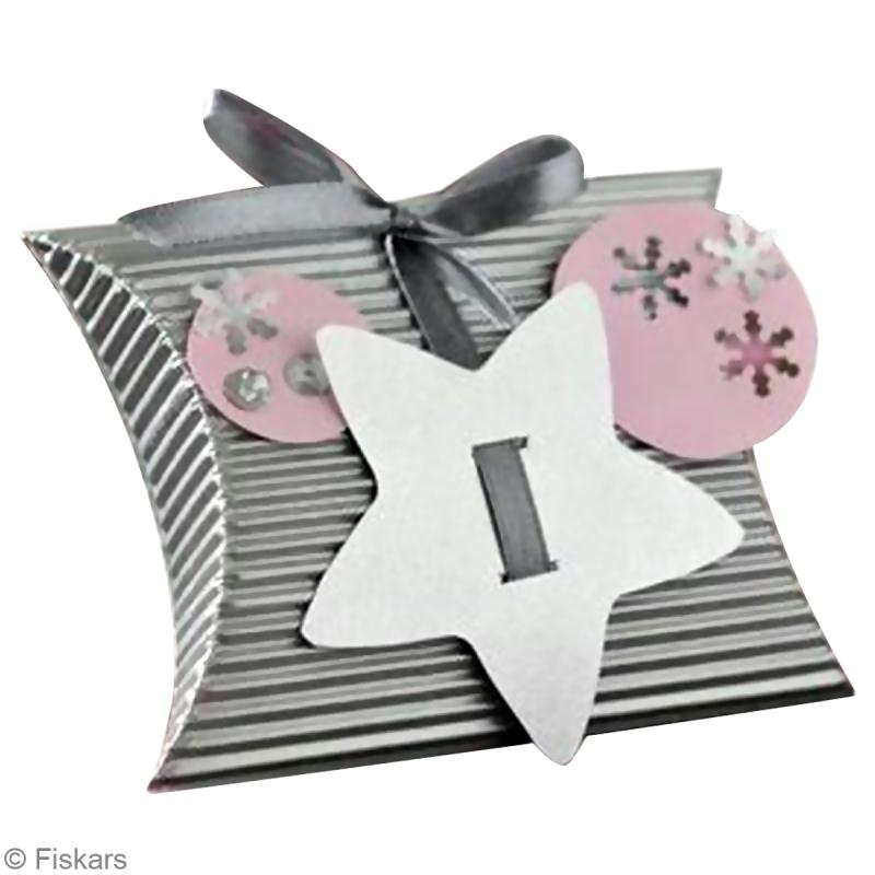 Diy boite cadeau toile id es conseils et tuto no l - Tuto boite en carton ...