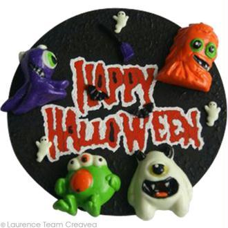 Bricolage d'une plaque de porte pour Halloween