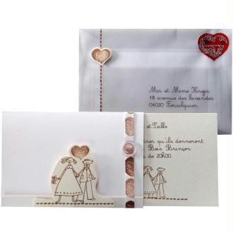 Faire-Part Mariage Love