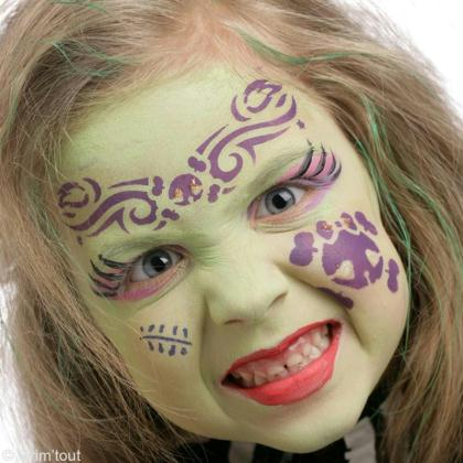 Maquillage zombie girl facile id es conseils et tuto maquillage - Tuto maquillage zombie ...