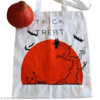 DIY : créer un tote bag pour Halloween
