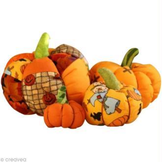 Tuto Halloween : Fabriquer des citrouilles en tissu