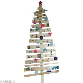 Décoration pour sapin de Noel bricolage et récup