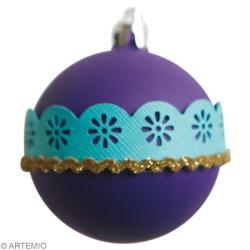 Boule de Noël tuto : version bling bling et récupération - Idées ...