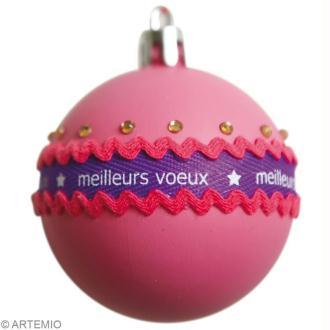Boule de Noël tuto : version bling bling et récupération