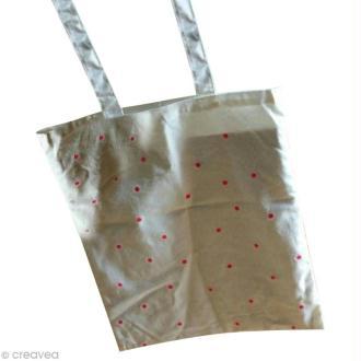 Fabriquer un tote bag à pois