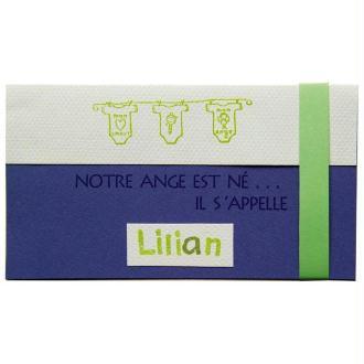Faire-Part Naissance Petit ange