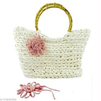 Tuto Hoooked : un sac panier en fil Zpagetti (au crochet)