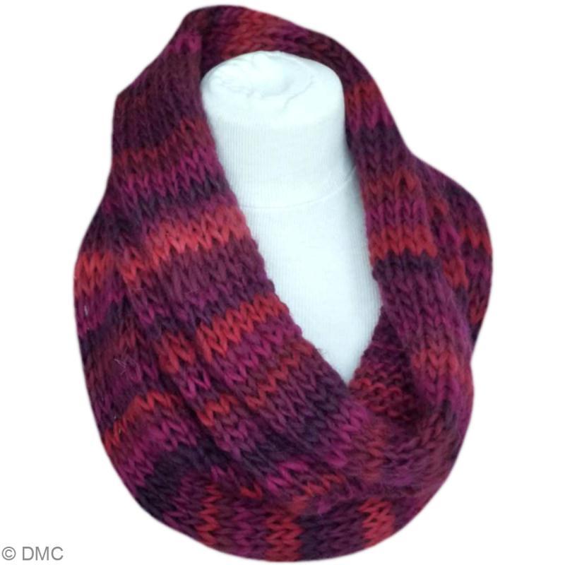 Tuto tricot   le snood en laine Victoria - Idées conseils et tuto Crochet  et tricot 7d993be7b40