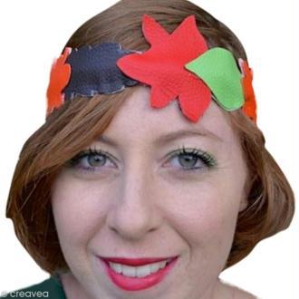 Fabriquer un headband automnal