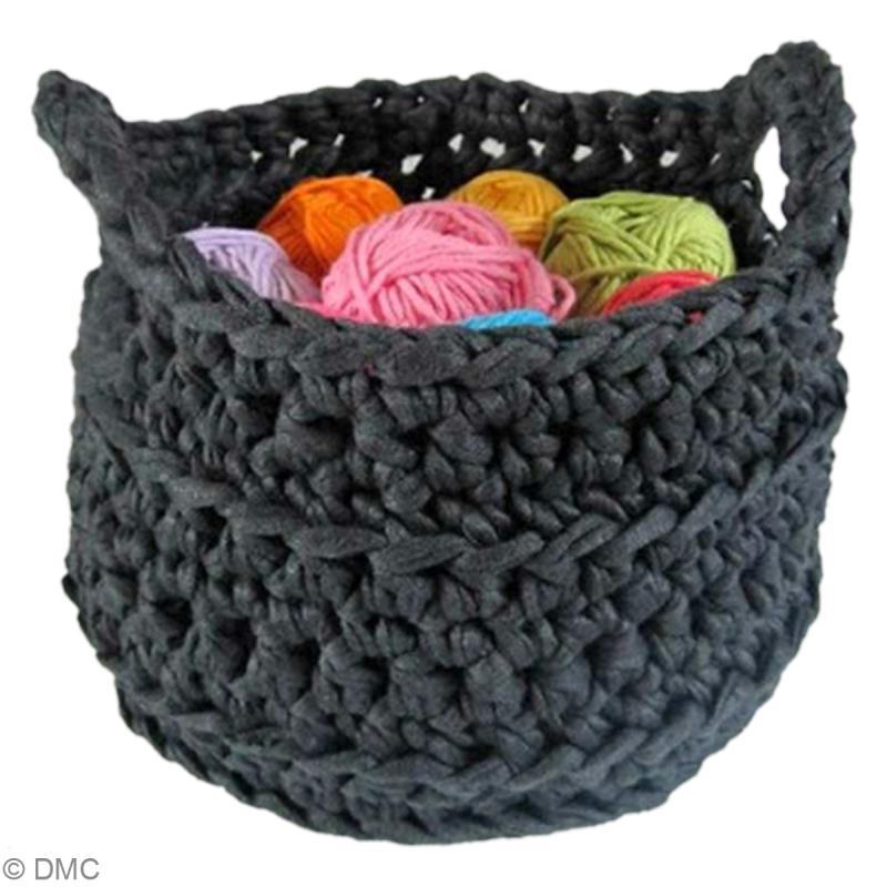 Tuto zpagetti hoooked corbeille au crochet id es - Tuto pour creer un sac en crochet ...