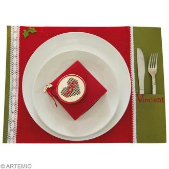 Décoration de table Noel Classique