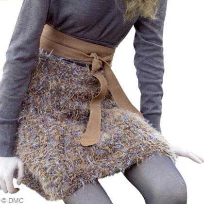 2834299af9384 Tuto   Tricoter une jupe en laine DMC - Idées conseils et tuto ...