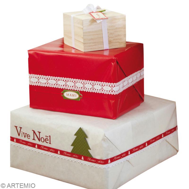 Assez Paquet cadeau Noël - Idées conseils et tuto Noël XS97
