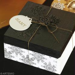 Fabriquer une bo te cadeau de no l id es conseils et - Fabriquer cadeau de noel ...