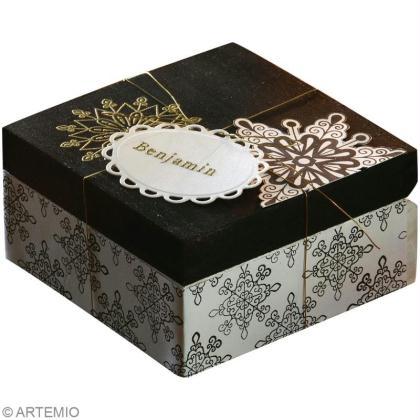 fabriquer une bo te cadeau de no l id es conseils et tuto no l. Black Bedroom Furniture Sets. Home Design Ideas