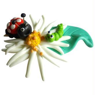 Le printemps et ses petites bêtes en pate Fimo