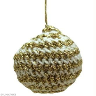Fabriquer des boules de Noel au crochet