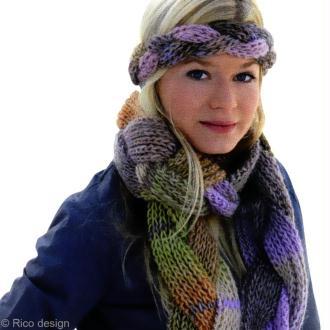 Tuto : Tricoter un bandeau tressé