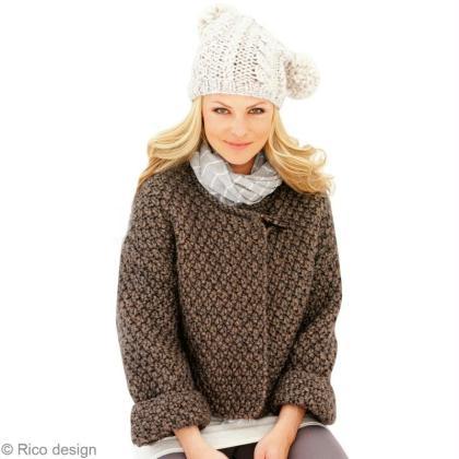 Tuto tricot gilet femme grosse laine