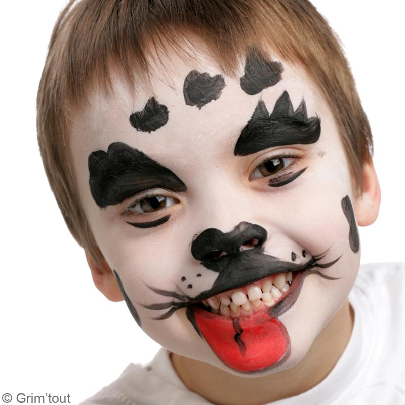 Tuto maquillage dalmatien