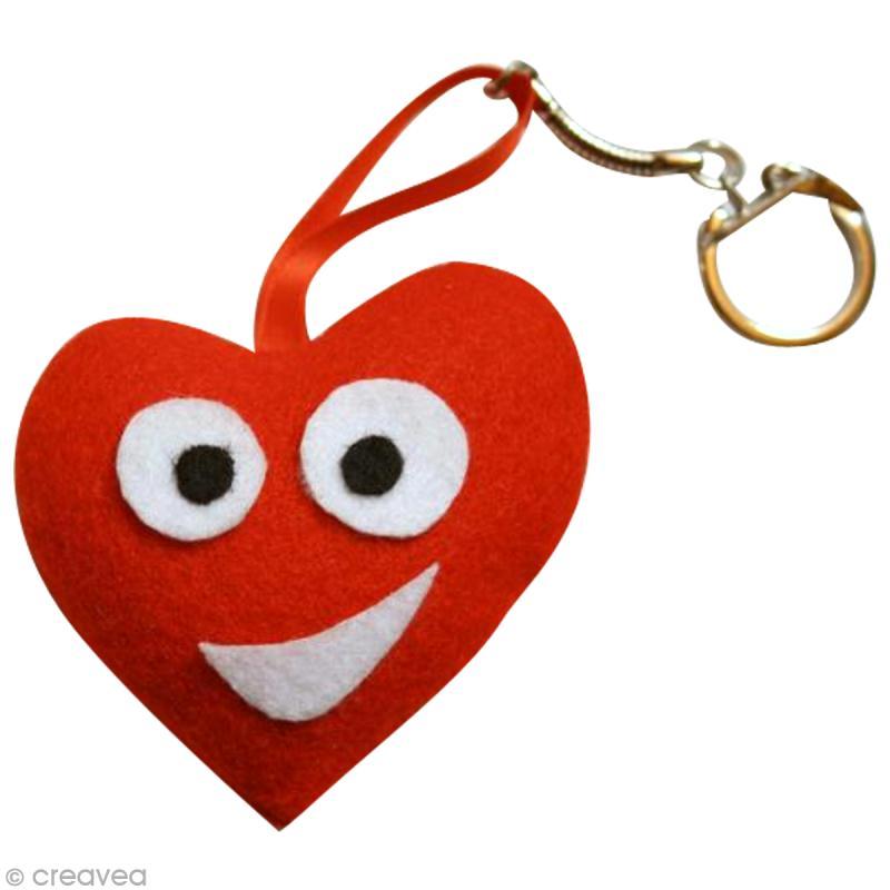 fabriquer un porte clefs pour la saint valentin id es conseils et tuto porte cl s et grigris. Black Bedroom Furniture Sets. Home Design Ideas