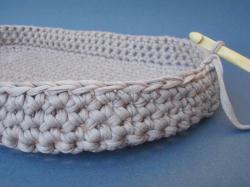 2. Tuto crochet : Fabrication du couffin (1/3)
