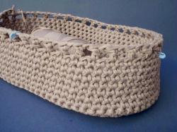 3. Tuto crochet : Fabrication du couffin (2/3)