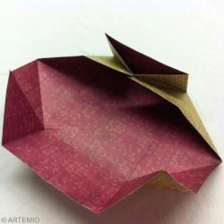 enveloppe origami facile diy id es conseils et tuto saint valentin. Black Bedroom Furniture Sets. Home Design Ideas