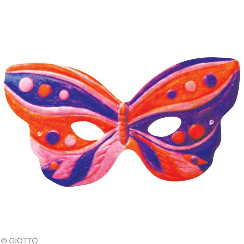 styles frais Style classique comment choisir Masque à colorier pour Carnaval - Idées conseils et tuto ...